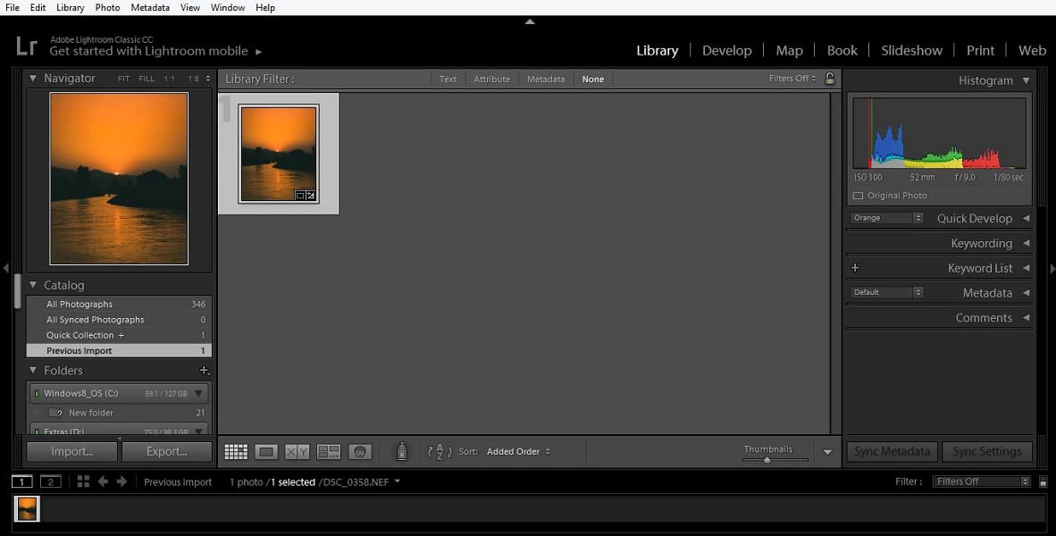Lightroom Ease Of Use