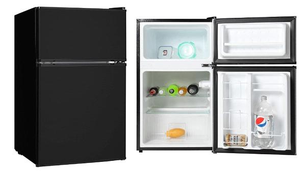 Midea Compact Reversible Double Door Refrigerator