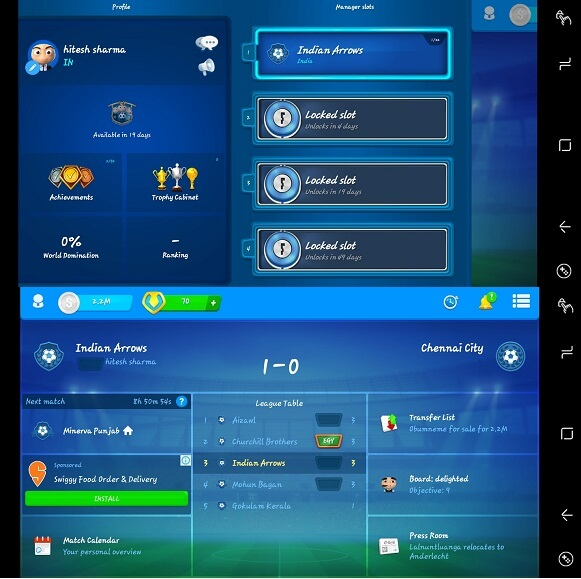 OSM - best football manager game ios and android