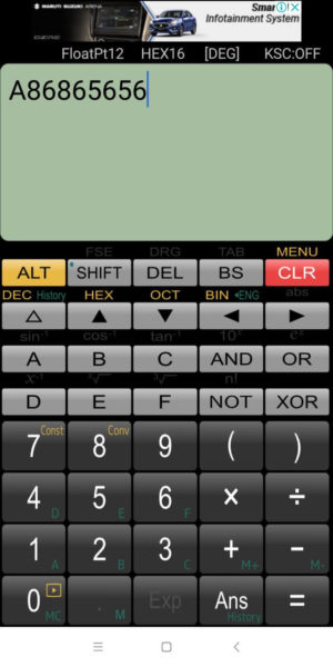 Panecal scientific calculator app Android iPhone
