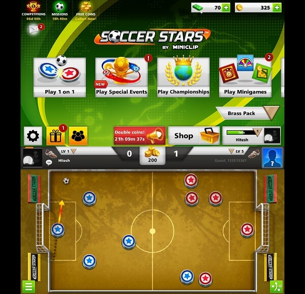 best football games for Android and iPhone - Soccer Stars - 2018 top leagues