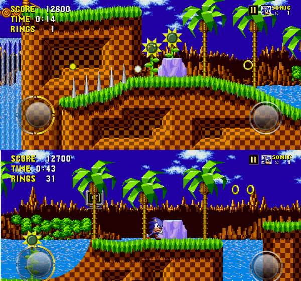Sonic the Hedgehog - classic video game