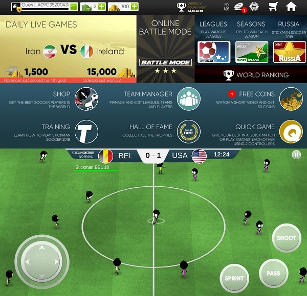 15 Best Football Games For Android, iPhone And iPad | TechUntold