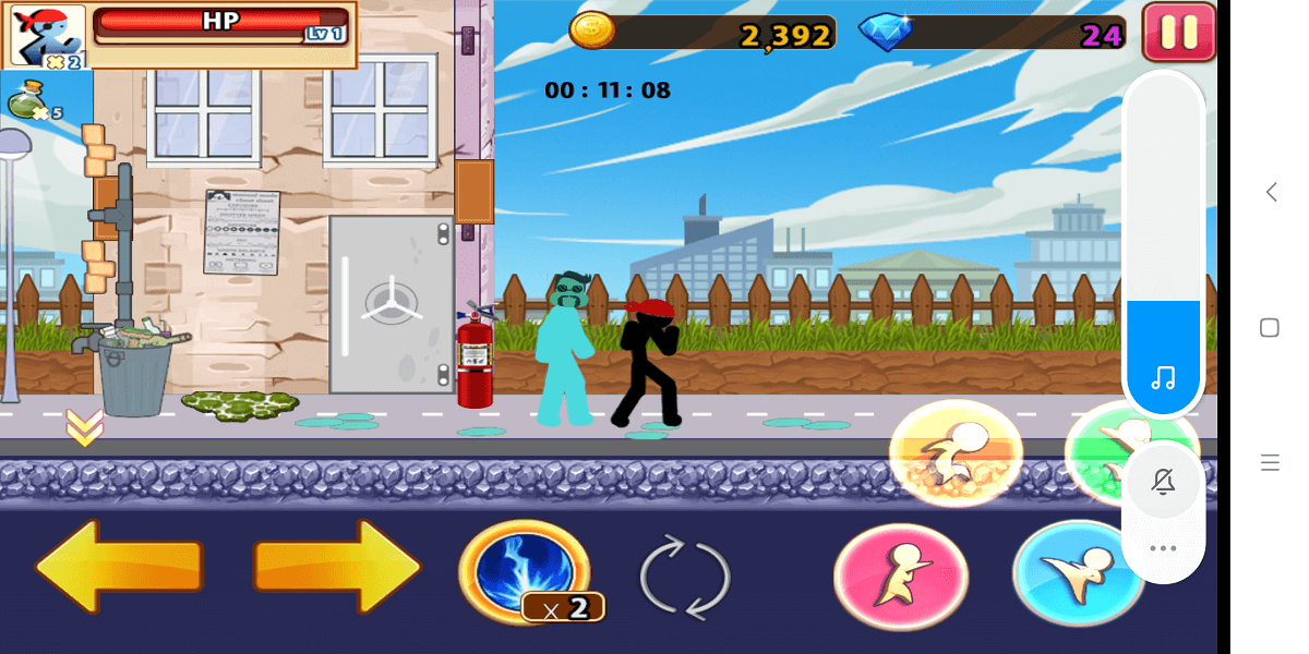 Street Stickman Fighter
