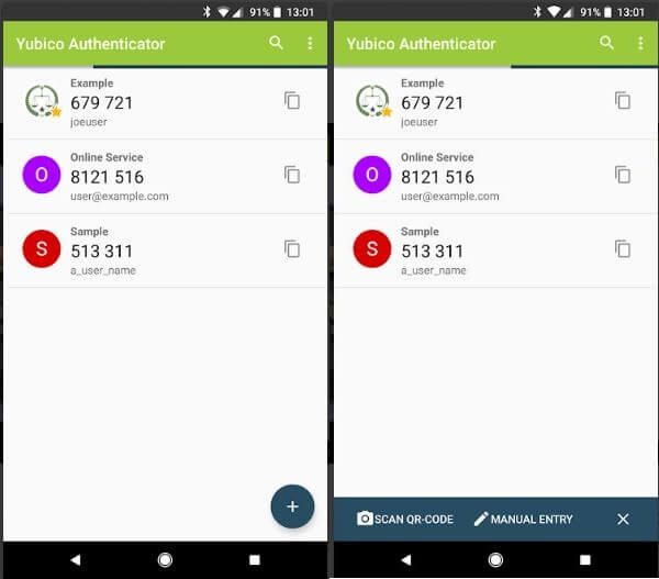 Yubico authenticator - google authenticator alternative open source