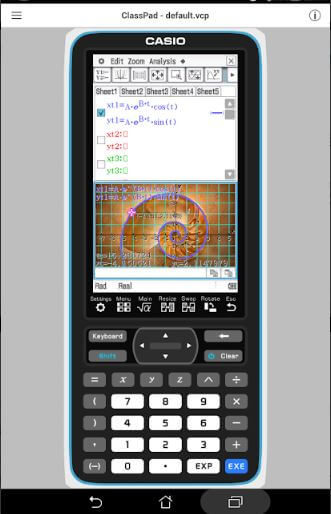 casio classpad - best calculator app for iphone