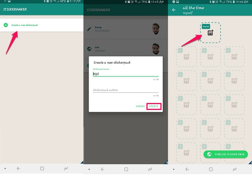 how to make custom WhatsApp stickers with your own photo