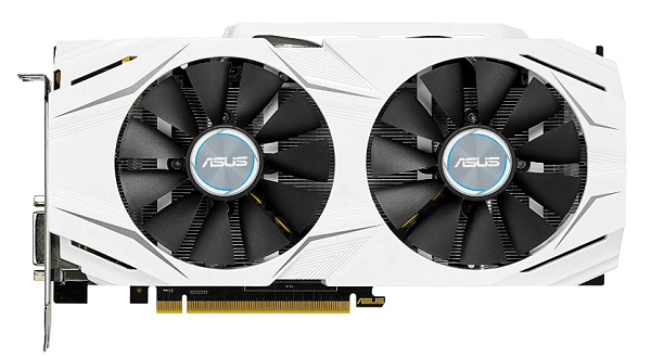 ASUS GeForce GTX 1060 6GB - best graphics card for 1080p