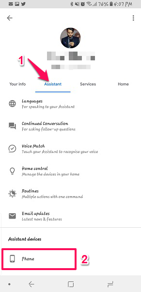 Turn Off Google Assistant Galaxy s8