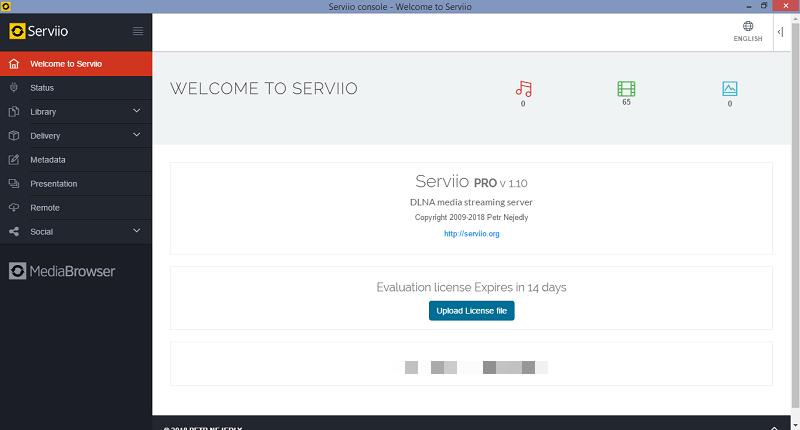 Serviio - plex alternatives