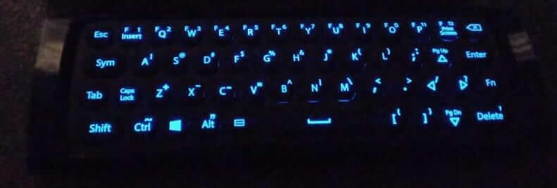 Backlit Keys - Azulle Lynk