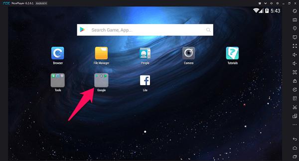 PUBG mobile - Nox app