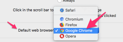 Set Chrome As Default Browser Mac