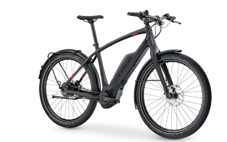Trek Super Commuter Electric Hybrid Bike - best electrical mountain bike