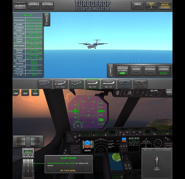 Turboprop Flight Simulator - best flight simulator games