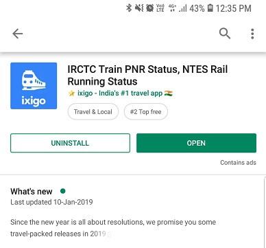 check live running status of train - ixigo train