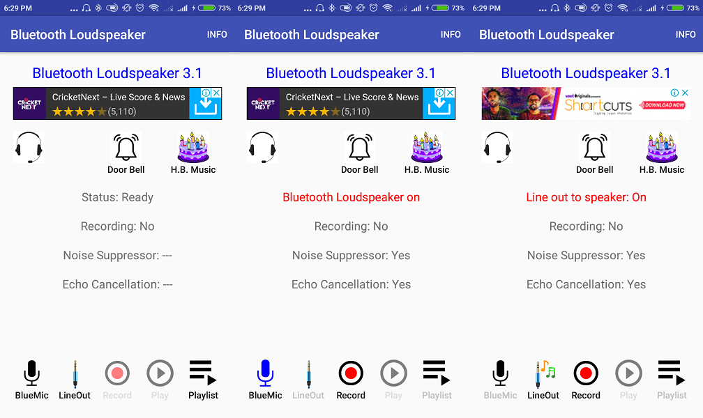 best microphone app - Bluetooth Loudspeaker