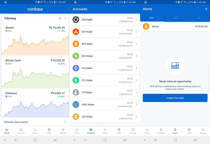 Coinbase - Buy and sell bitcoin
