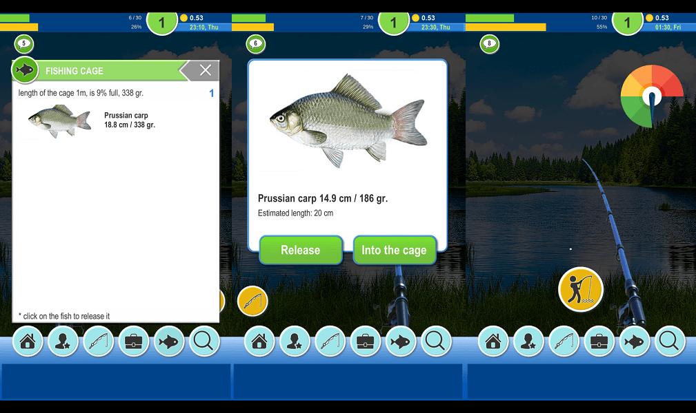 fishing games for kids - Fishing Baron