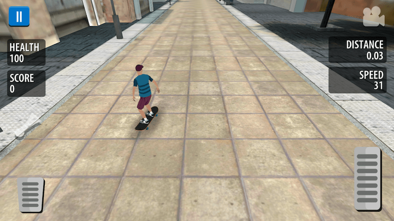 skateboard game iPhone - Freestyle Skater