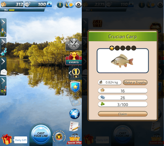 best fishing games - Let's Fish