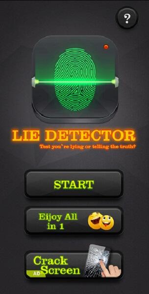 Lie Detector Test Prank app