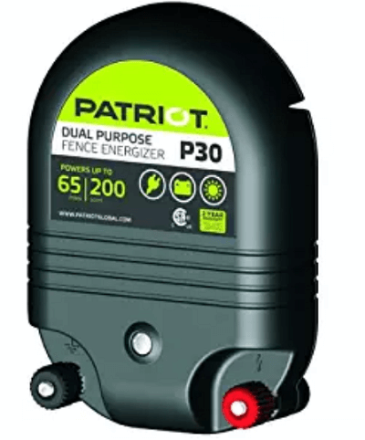 Patriot Dual Purpose Electric Fence Energizer