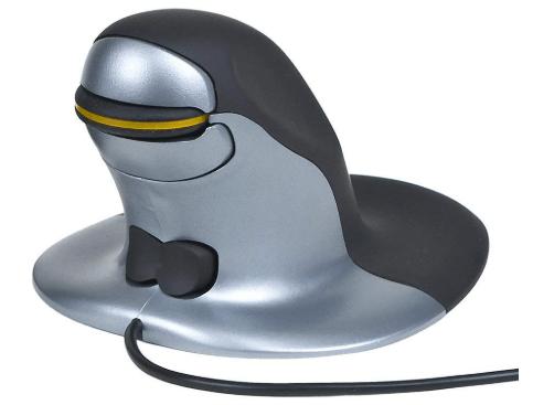Penguin Ambidextrous - best Vertical Mouse for mac