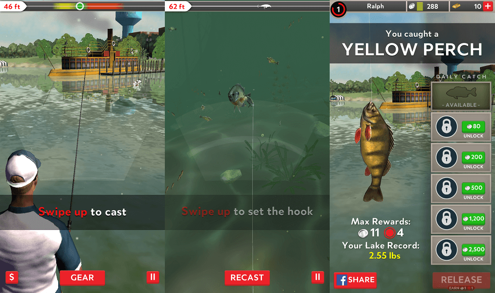 Rapala Fishing - best fishing game for Android