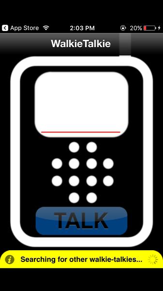 Walkie Talkie Standard - ios