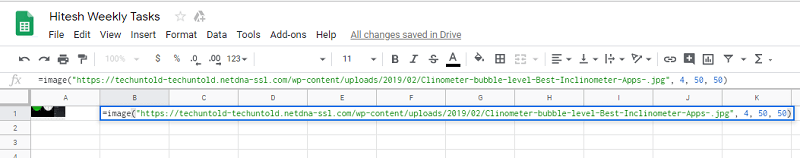 add custom size image to google sheets cells