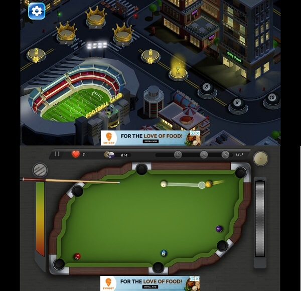 best offline pool game for android - Pooking -Billiards City
