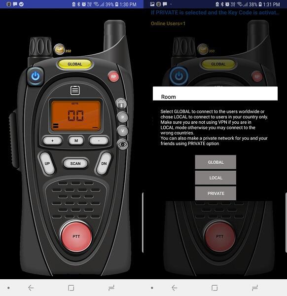 best walkie talkie apps