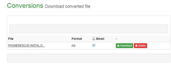 convert dmg and download