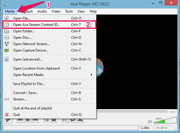 how to use ace stream - Ace Player