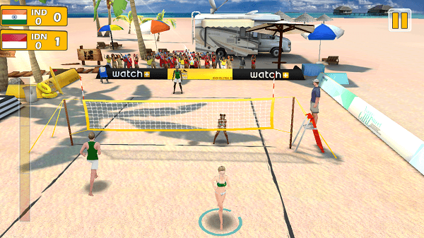 Beach Volleyball 3D game