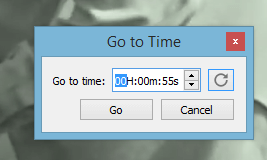 VLC Keyboard shortcuts - Jump to specific time