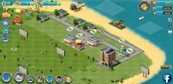 City Island 3 - house building games like Sims