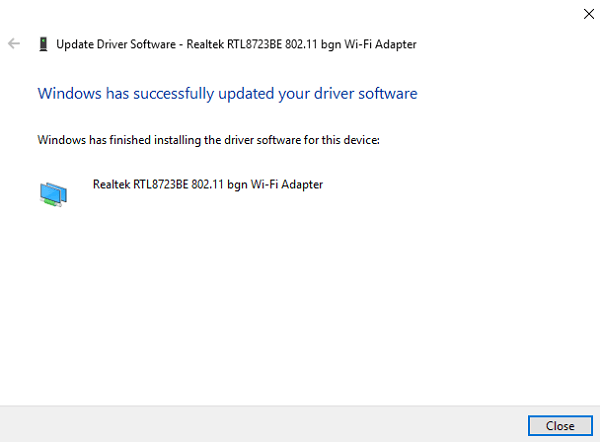 Drivers Updated