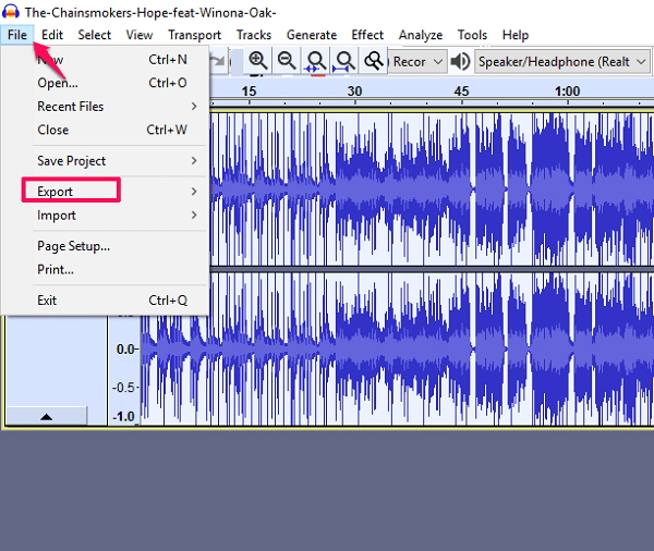 how to isolate vocals in Audacity