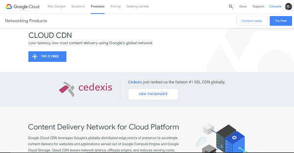 Google Cloud CDN