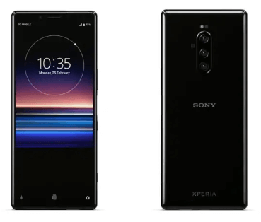 Sony Xperia 1 - upcoming android phones