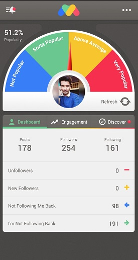 FollowMeter for Instagram - Track Unfollowers