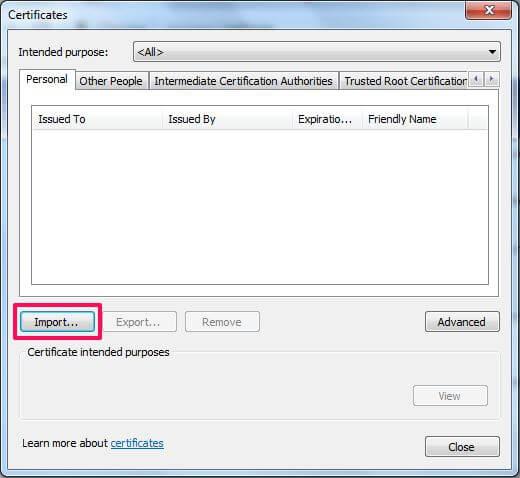 chrome import certificates