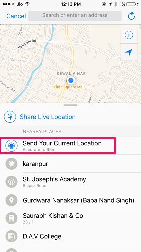 How To Send Fake Location On WhatsApp | TechUntold