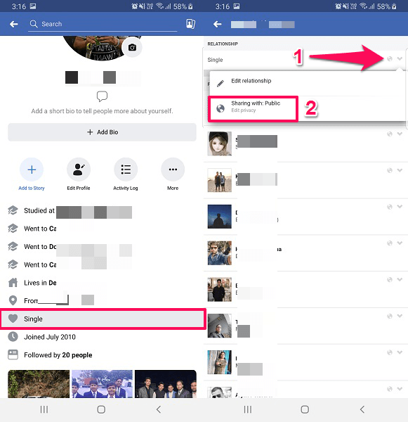 How To Secretly Change Relationship Status On Facebook