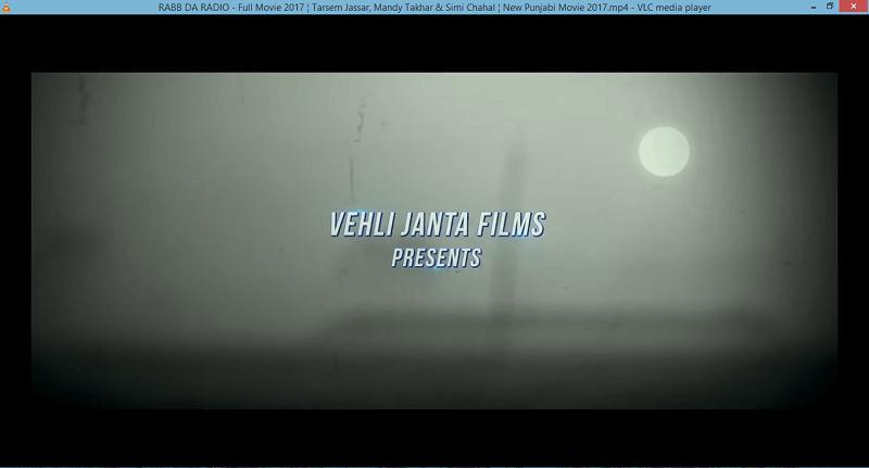 hide menu controls VLC