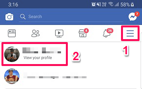hide relationship status from Fabcebook application