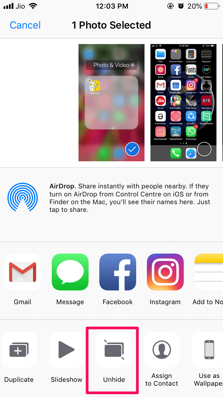 How To Unhide Hidden Photos In Iphone Unhide hidden photos