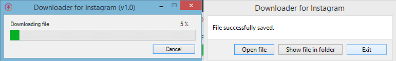 file saved successfully